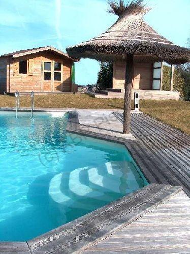 escalier pour piscine poser mod le cyb le. Black Bedroom Furniture Sets. Home Design Ideas