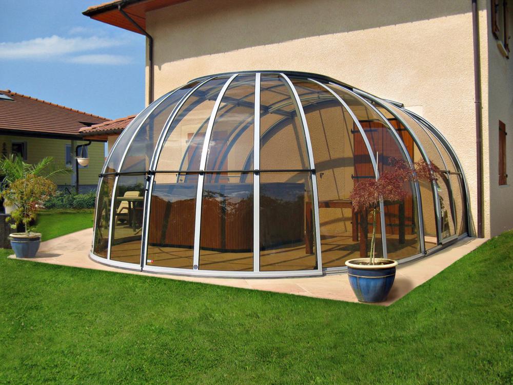 abri pour spa oasis large. Black Bedroom Furniture Sets. Home Design Ideas