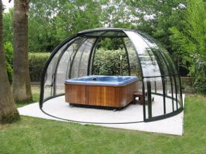 spa gazebo visscher. Black Bedroom Furniture Sets. Home Design Ideas
