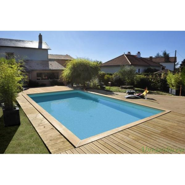 Piscine bois rectangulaire durapin maeva 1000 for 1000 piscine
