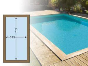 piscine bois 800 euros